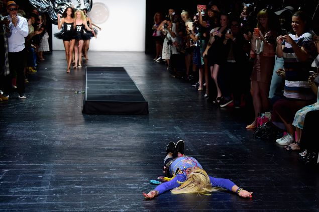 Are you okay, Betsey? (Photo: Getty Images)