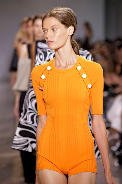 NEW YORK, NY - SEPTEMBER 13: Models walk the runway at the Edun Spring 2016 fashion show during New York Fashion Week at Spring Studios on September 13, 2015 in New York City. (Photo by JP Yim/Getty Images)