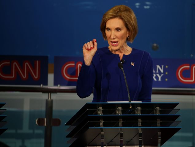 Carly Fiorina. (Photo: Justin Sullivan/Getty Images)