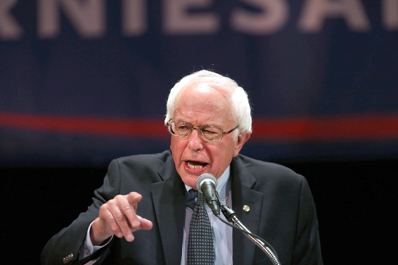 Sen. Bernie Sanders. (Photo: Spencer Platt/Getty Images)