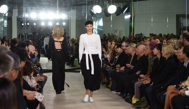 The Joseph show at London Fashion Week (Photo: Stuart C. Wilson/Getty Images)
