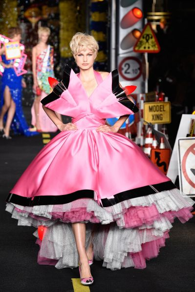 This is how Moschino does speed (Photo: Getty Images).