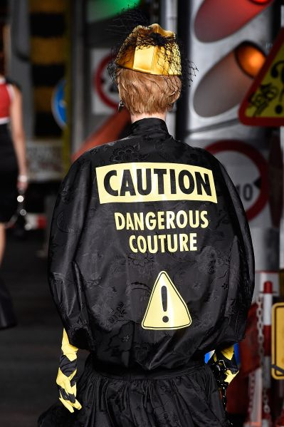 The best kind of danger sign (Photo: Pietro D'Aprano/Getty Images).