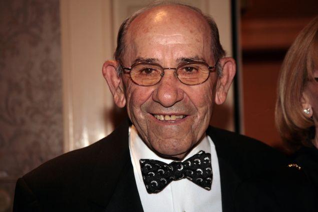 Yogi Berra. (Photo: Nancy Ostertag/Getty Images)