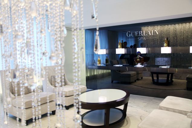 The Guerlain Spa in The Waldorf Towers in New York City. (Photo: Getty Images)