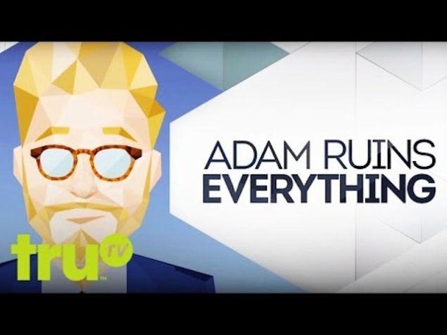 Adam Conover, Everything-Ruiner. (TruTV)