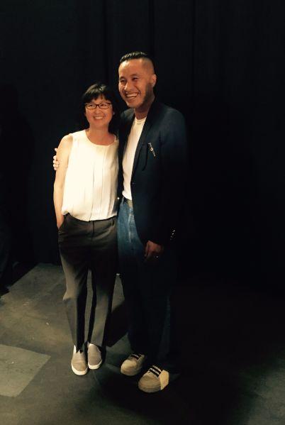 Maya Lin and Philip Lim. (Photo: Courtesy Maya Lin Studio and Pace Gallery)