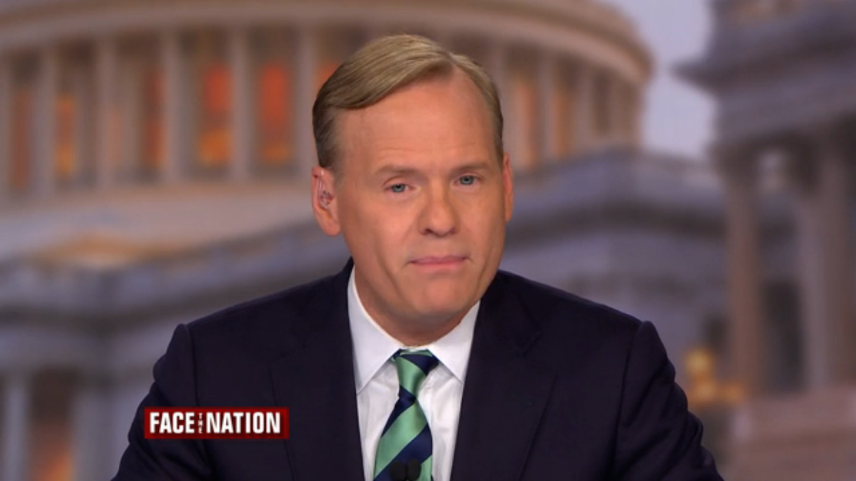 "John Dickerson Discusses ""The Summer of Trump"" on Face the Nation on CBS. (Screencap)"