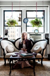 Judy Collins at her home on the Upper West Side. (Photo: Chris Sorensen for Observer)