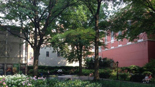 Theodore Roosevelt Park, adjacent to the American Museum of Natural History in Manhattan. (Photo: Change.org via Defenders of Teddy Roosevelt Park)