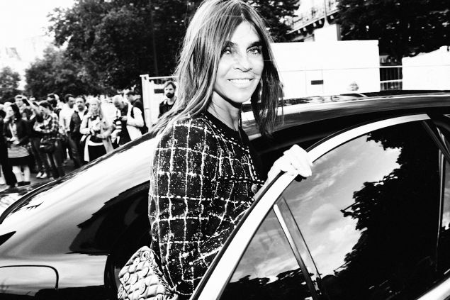 Ms. Roitfeld in Paris (Photo: Pierre-Alban Hue de Fontenay)