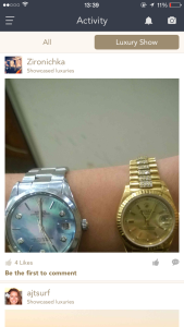 Here's some guy's watches so you can feel okay loving him. (Image: MillionaireMatch)