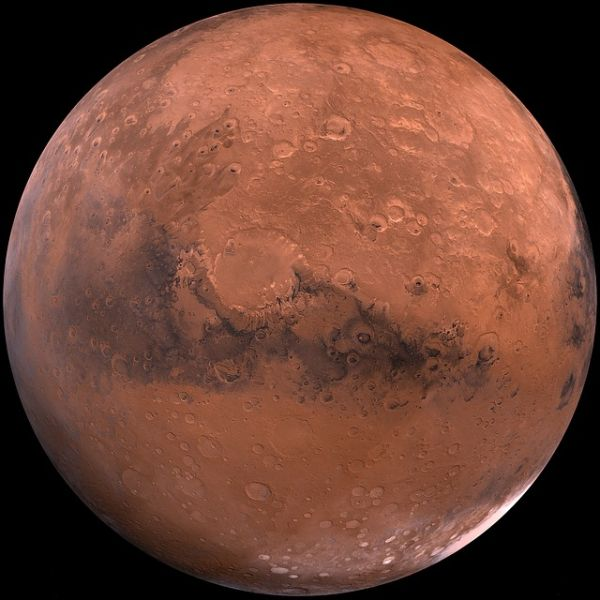 This morning NASA announced it had discovered water on Mars, but online viewers were left hanging because the video stream didn't work. (Photo: Google Commons)