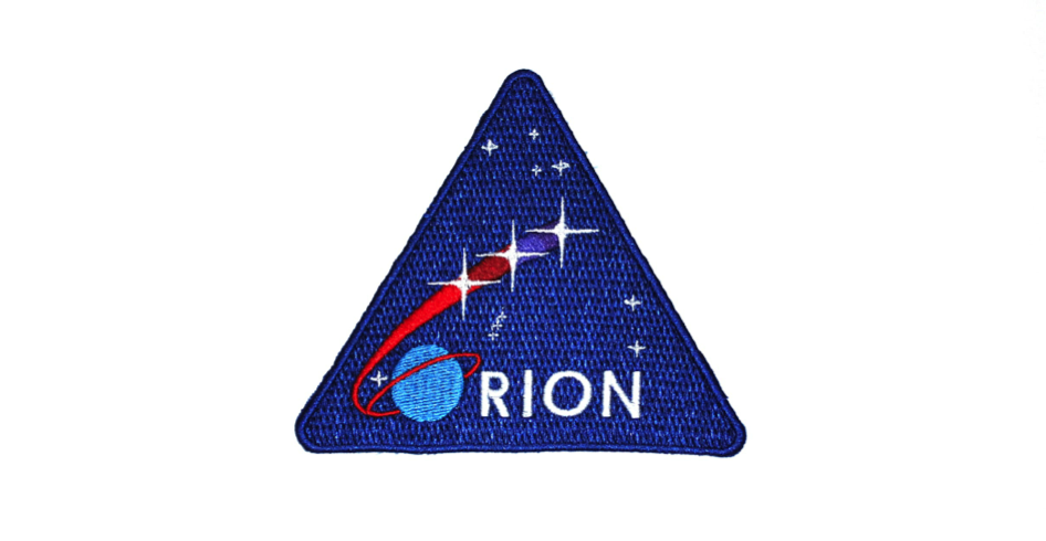 An Orion mission patch given to me by Lockheed Martin's Orion Project Manager at the close of the tour (Robin Seemangal)