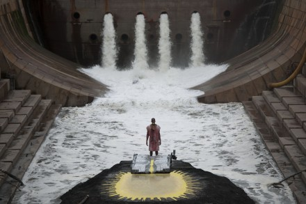 Matthew Barney, River of Fundament (still) (2014), Courtesy BAM credit: Hugo Glendinning