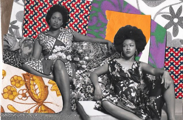 Mickalene Thomas, A Moment's Pleasure #2, 2007, from Muse: Mickalene Thomas Photographs (Photo: Courtesy Aperture, 2015)