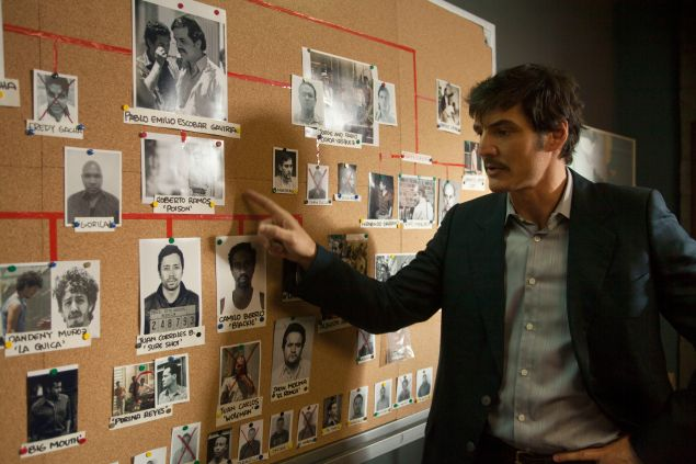 "PEDRO PASCAL stars in NARCOS. NARCOS S01E07 ""You Will Cry Tears Of Blood"""