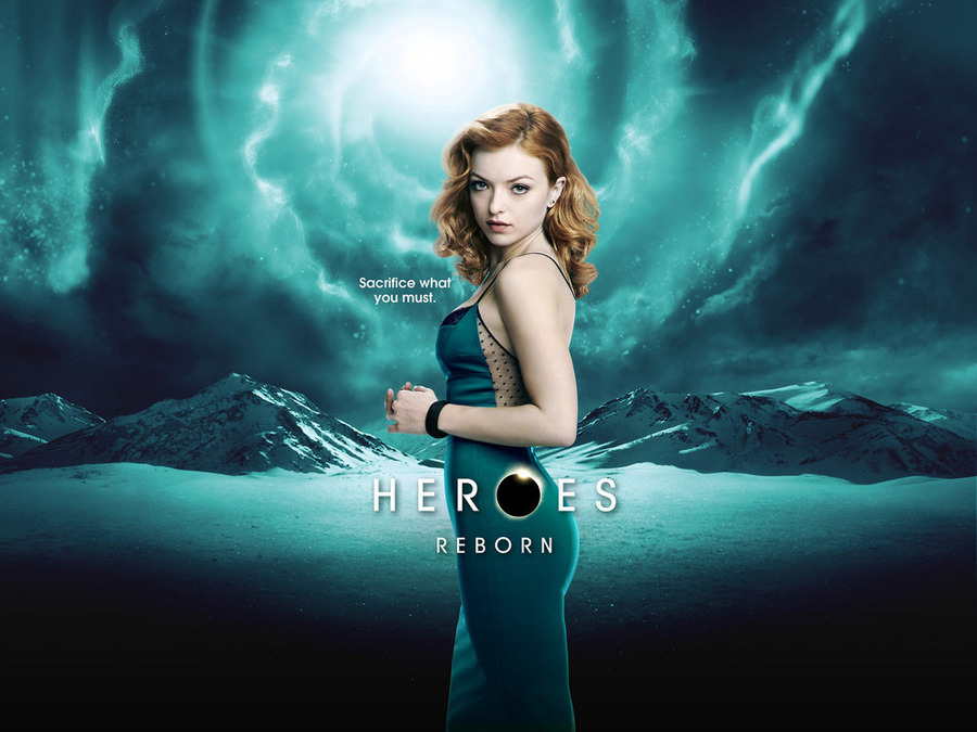 HEROES REBORN -- Pictured: Francesca Eastwood as Molly -- (Photo by: NBCUniversal)