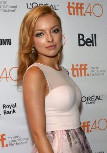 Francesca Eastwood, the new face of Molly Parker. (Photo: Mike Windle/NBC)