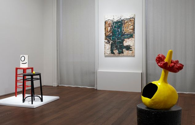 Riopelle / Miró: Color, Installation view. (Photo: Courtesy Acquavella Galleries)