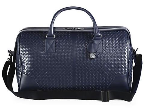 Bottega Veneta Leather Duffel, $3,800, www. saks.com. (Photo: Saks Fifth Avenue)
