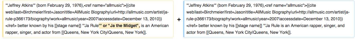 (Screengrab: Wikipedia revision history)