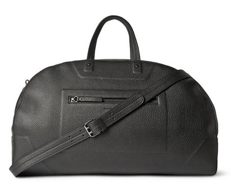 Maison Margiela Grained-Leather Holdall, $1,575, www.mrporter.com. Photo: Mr Porter)