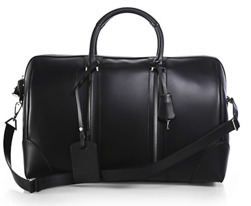 Givenchy LC Leather Weekender, $3,490, www.saks.com. (Photo: Saks Fifth Avenue)