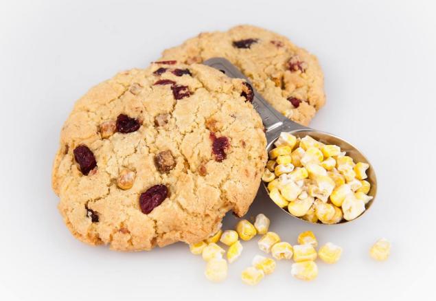 Schmackarys gluten-free Sweet Corn cookie. Photo: Facebook/Schmackarys)