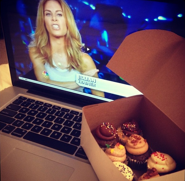 One time I ate Tu-Lus cupcakes while watching The Biggest Loser. No shame. Photo: Jordyn Taylor)
