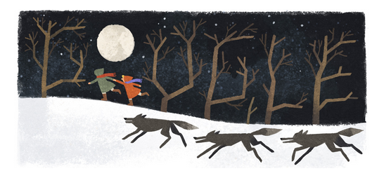 Google Doodle for Joan Aiken's 91st birthday. (Image: screenshot)