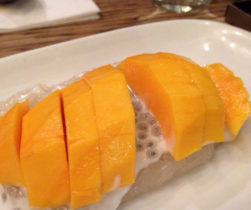 Mango Sticky Rice at PURE Thai Cookhouse. Photo: Yelp)