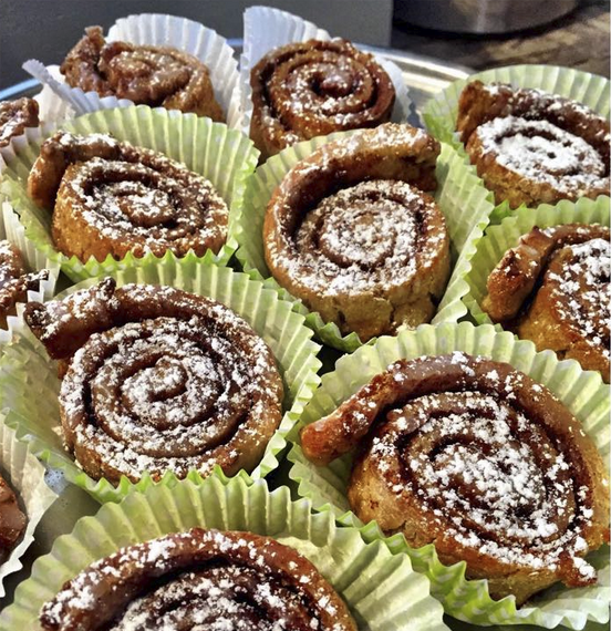 Cinnamon rolls at Jennifers Way. Photo: Facebook/Jennifers Way Bakery)
