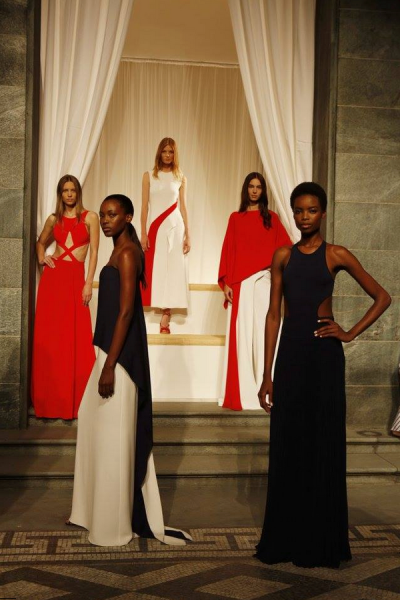 Ralph Lauren's Spring 2016 fashion presentation. (Photo: Facebook/Ralph Lauren)