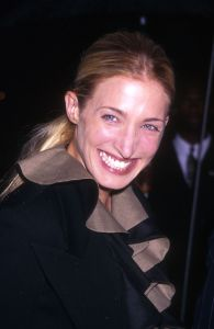 377120 01: Carolyn Bessett Kennedy arrives at the US Customs House in New York city May 19, 1999 for the Newman's Own/George Awards honoring generous American companies. (Photo by Diane Freed)