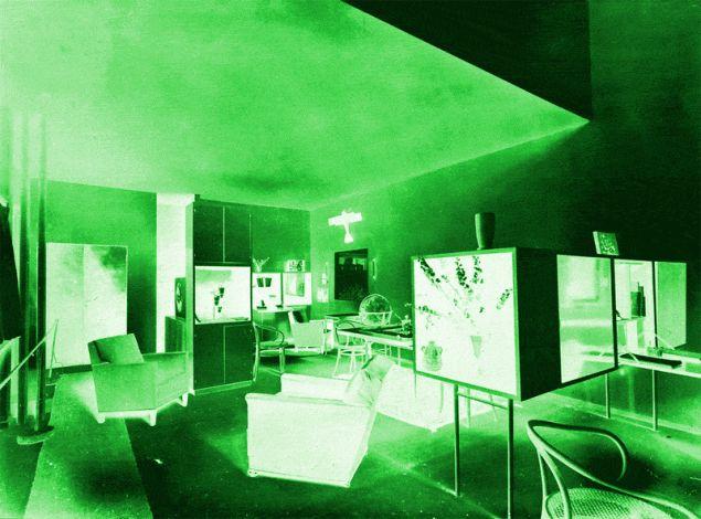 Le Corbusier, Pavillon de l'Esprit Nouveau, Exposition Internationale des Arts Décoratifs et Industriels Modernes, Paris, 1925 © Fondation Le Corbusier/ADAGP. (Photo: Courtesy Swiss Institute)