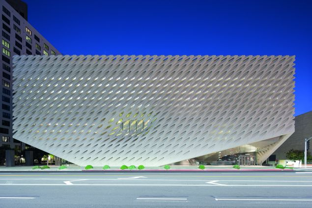 The Broad Museum, designed by Diller Scofidio and Renfro. (Photo: Iwan Baan/Courtesy the Broad Museum)