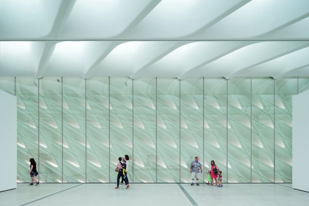 Inside the Broad Museum. (Photo: Iwan Baan/Courtesy the Broad Museum)
