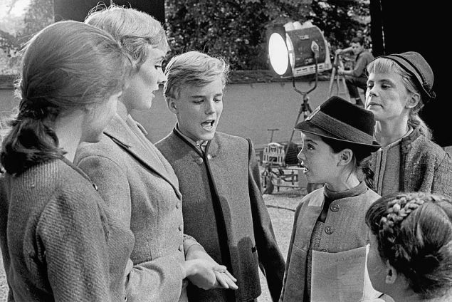 """The Sound of Music"" on Set. Salzburg, Austria, 1964. (Photo: © Erich Lessing, Courtesy Austrian Cultural Forum)"