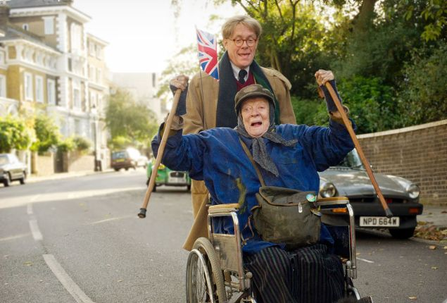 Maggie Smith is spectacular in The Lady in the Van.