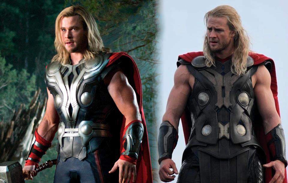 Bobby Holland Hanton as Thor (Photo: Dove Men+Care).