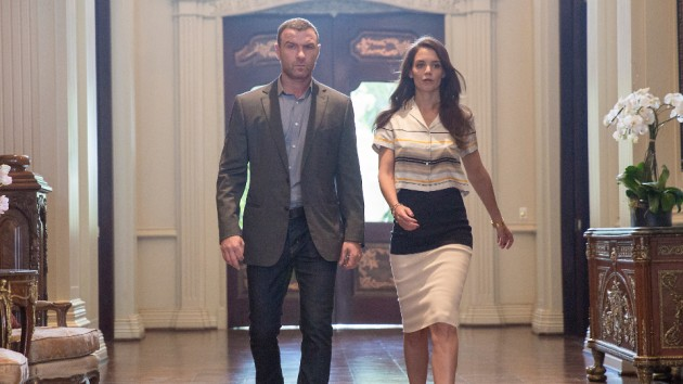 Walk and talks with Ray Donovan (Liev Schrieber). (Showtime)