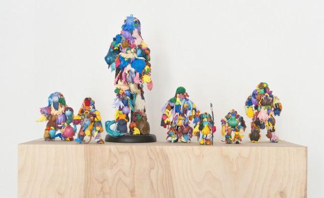 Teenage Fan Club by Teppei Kaneuji. (Photo: Jane Lombard Gallery)