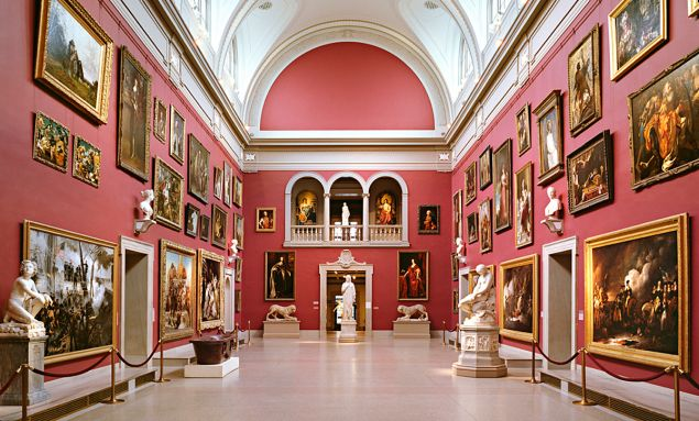 The Grand Room in the Wadsworth Atheneum. (Photo: Courtesy of Smith Edwards McCoy)