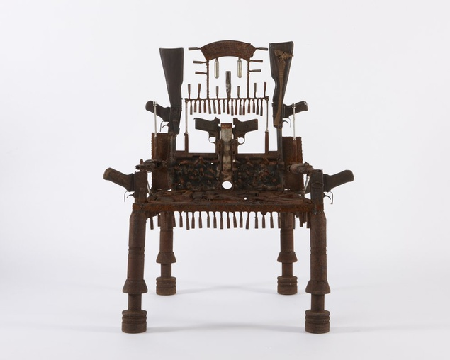 War Throne. (Photo: Courtesy Jack Bell Gallery)