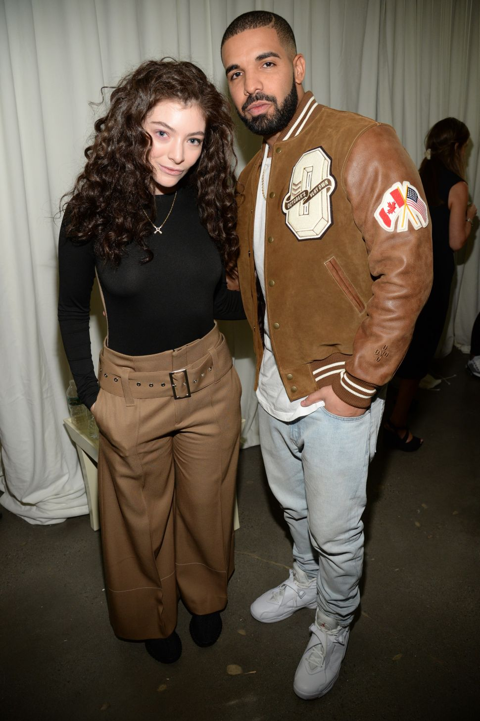 Lorde, Drake (Photo by Kevin Mazur/Getty Images for Kanye West Yeezy)