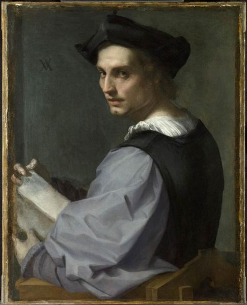 Portrait of a Young Man, National Gallery, London by Andrea de SArto