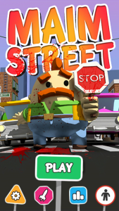 Maim Street, opening screen. (Image: So Choice Softworks)