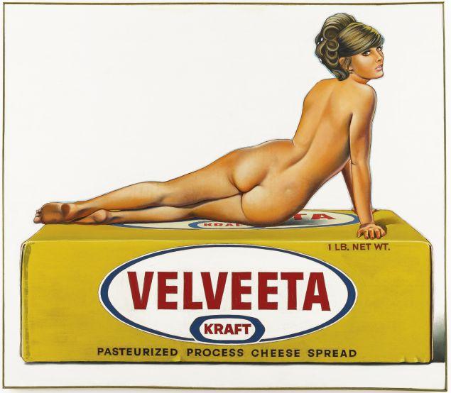 Mel Ramos, Val Veeta. (Photo: Sotheby's)