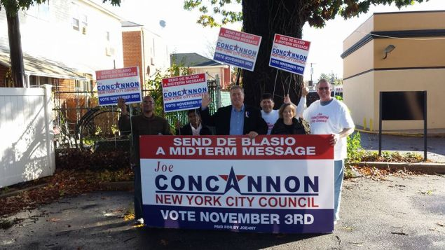 Republican Joseph Concannon and supporters (Photo: Facebook).